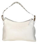 MIU MIU - SAC EN CUIR GRAINÉ OFF-WHITE